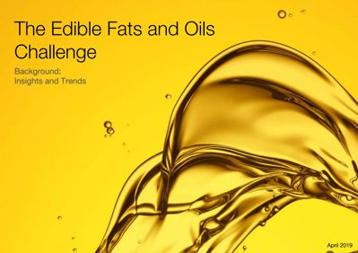 Edible Fats and Oils Collaboration | Forum for the Future